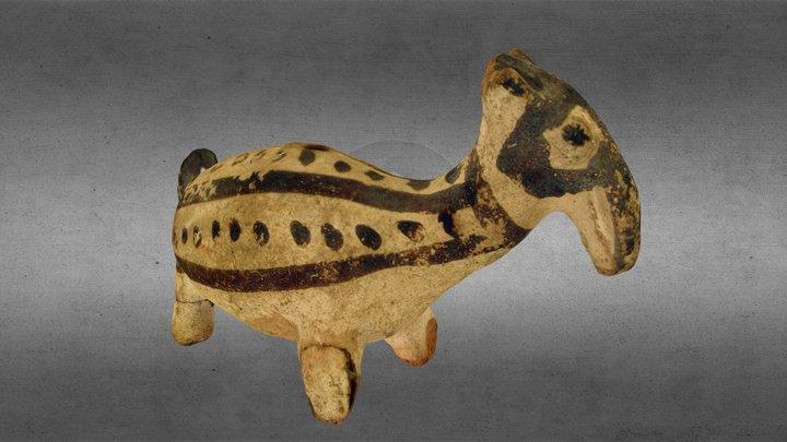 Silbato Cultura Chancay 3D Model