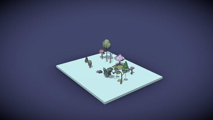 Quasimodovaraan's Low Poly Nature Pack 1 3D Model
