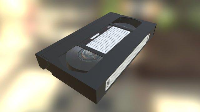 VHS Cassette   Maya 3D Model