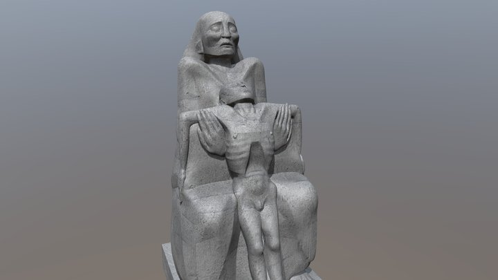 Monja test 3D Model