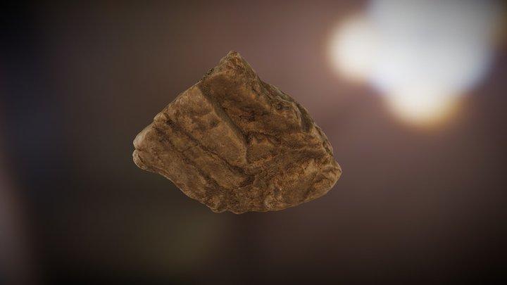 Rock 3 Test - Photoscan - High Contrast 3D Model