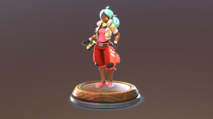 Beatrix Lebeau - Slime Rancher 3D Model