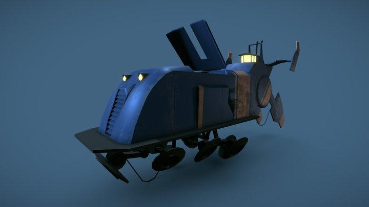 Lokskepp 67 - Stålenhag 3D Model