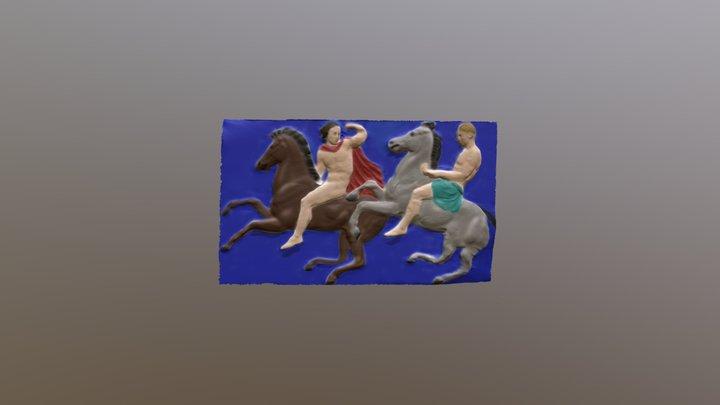 Adelstein, Parthenon frieze WII - Final Model 3D Model