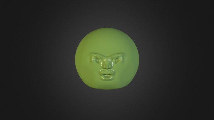 test face 3D Model