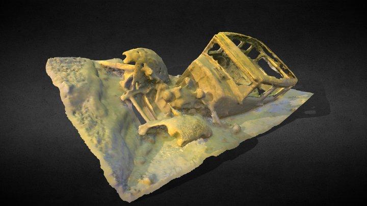 Studebaker Erskine 1929 du Lac des Seize Îles 3D Model