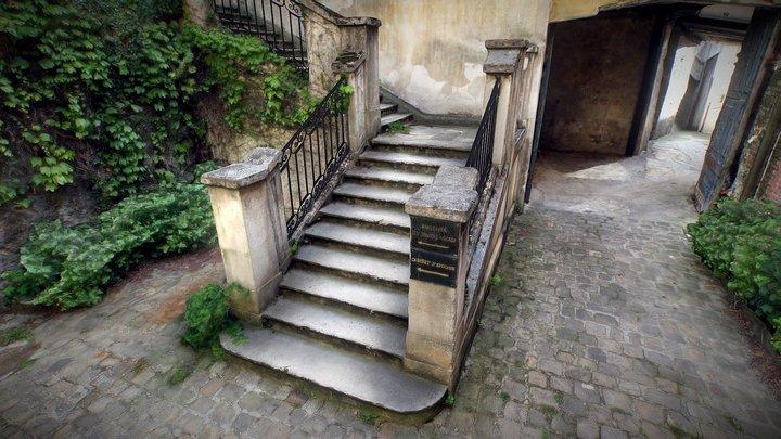 Versailles Stairs Scan 3D Model
