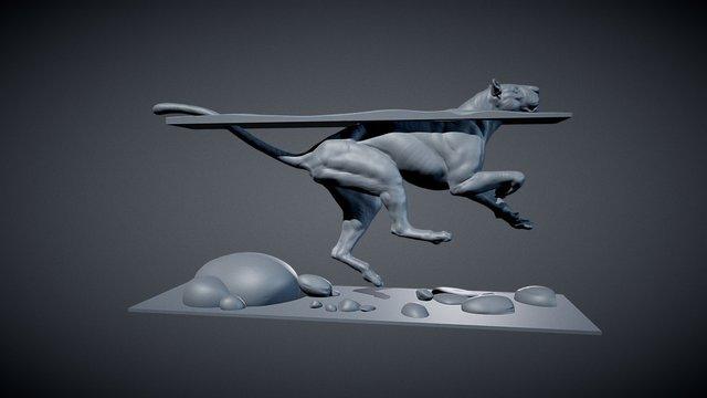 BIG CAT 3D Model