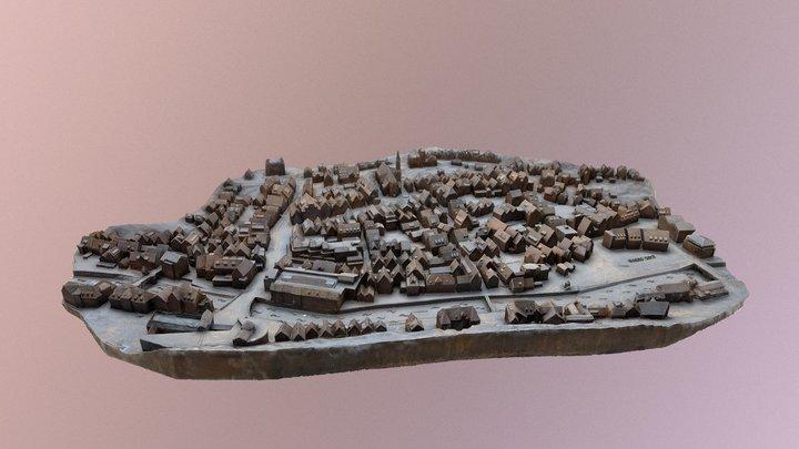 Calw city map 3D Model