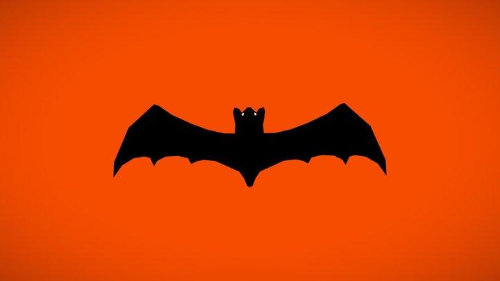 Bat Lowpoly 3D Model