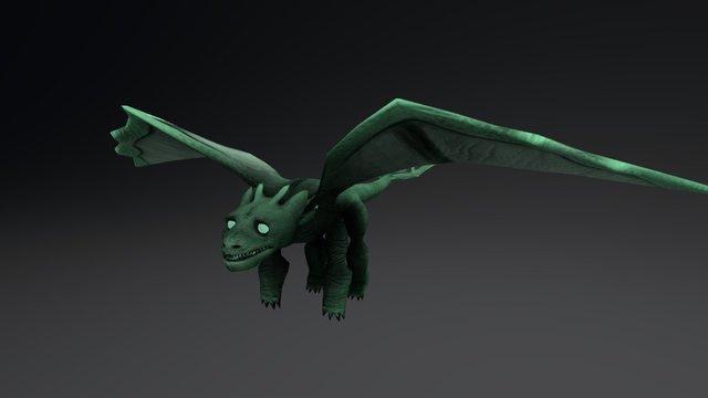 Dragon Low B 3D Model