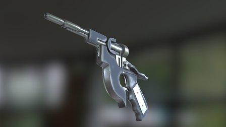 Aeon Flux pistol 3D Model