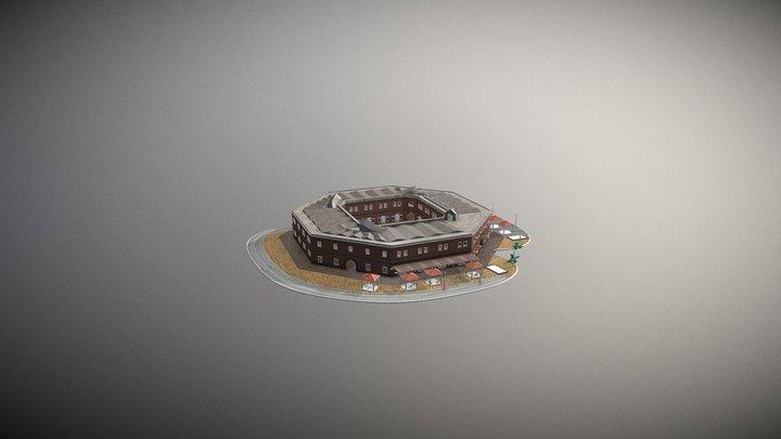Benteng Van Der Wijck Kebumen 2 3D Model