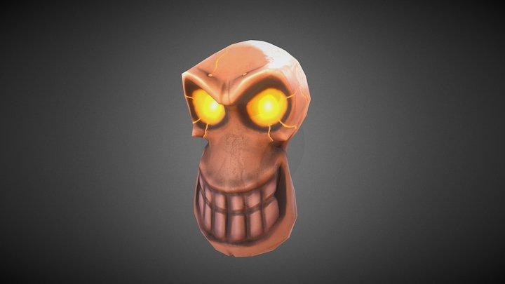 Game Head - Halloween Skull 3D Model