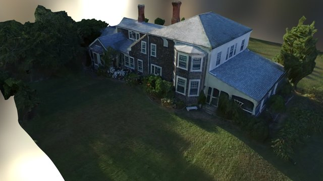 Residential Aerial Scan 2 3D Model