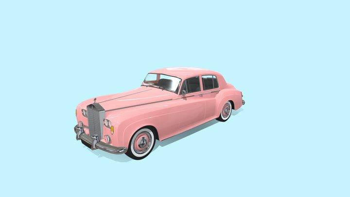 Rolls Royce Silver Cloud 3D Model