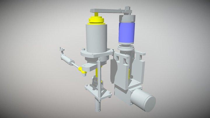 Swing Clamp 3D Model