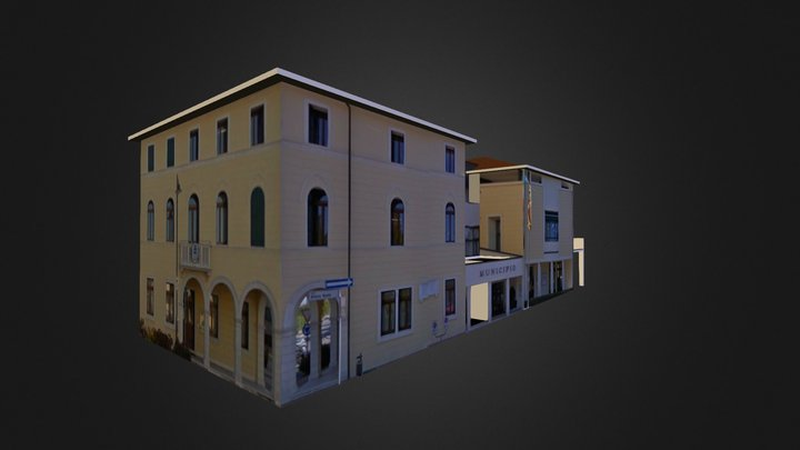 Municipio - Costabissara (VI) 3D Model