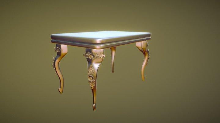 Table sculpt 3D Model