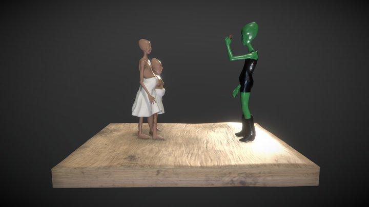 Cosas del pasado 3D Model