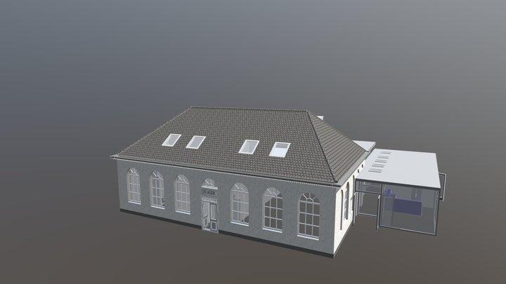 dorpshuis vr trap erbij 3D Model