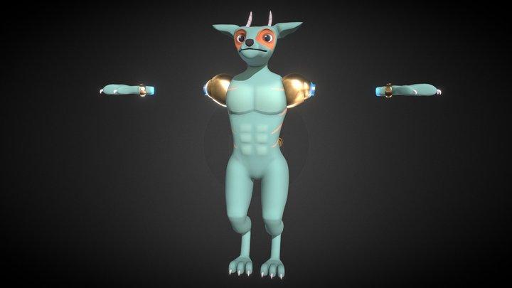 Monster Adult 3D Model
