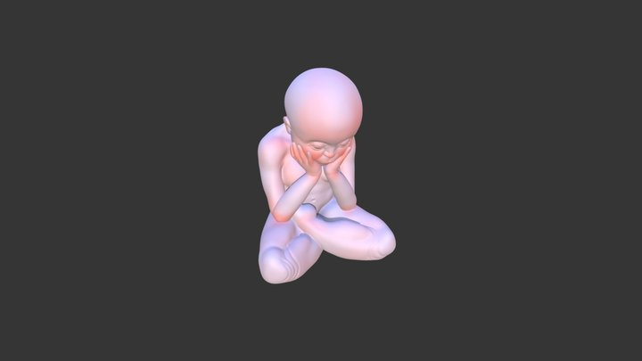 cube baby 3D Model