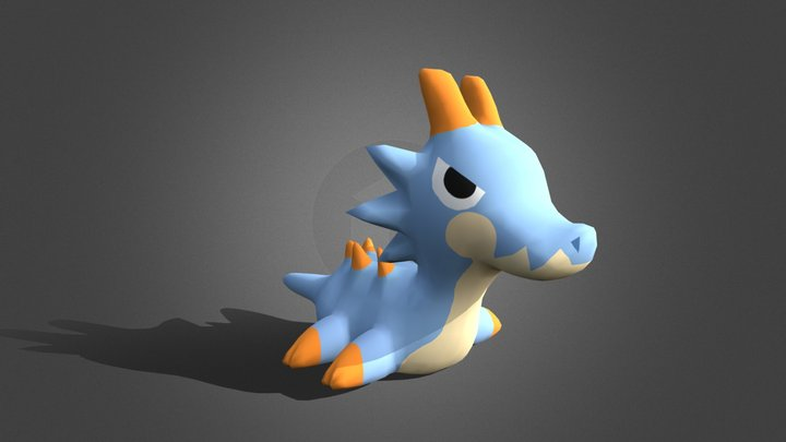Lagiacrus - Monster Hunter 3D Model