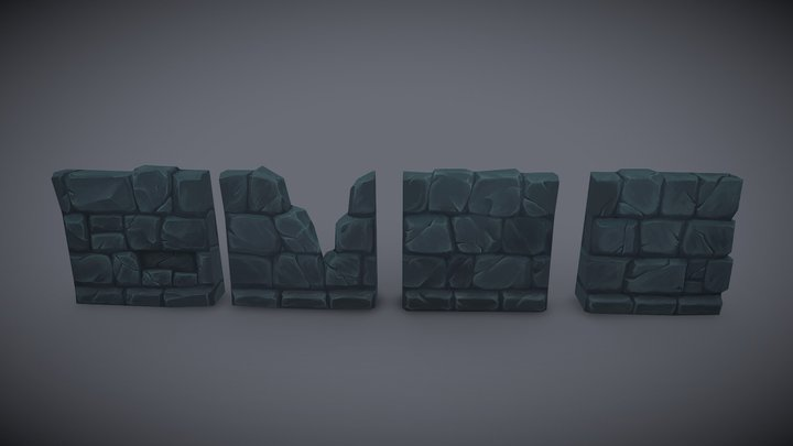 Wall Kit 3D Model