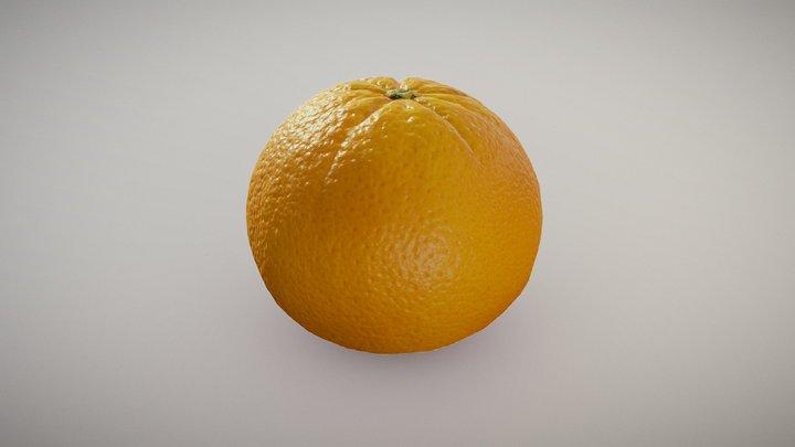 Cara Cara Orange 3D Model