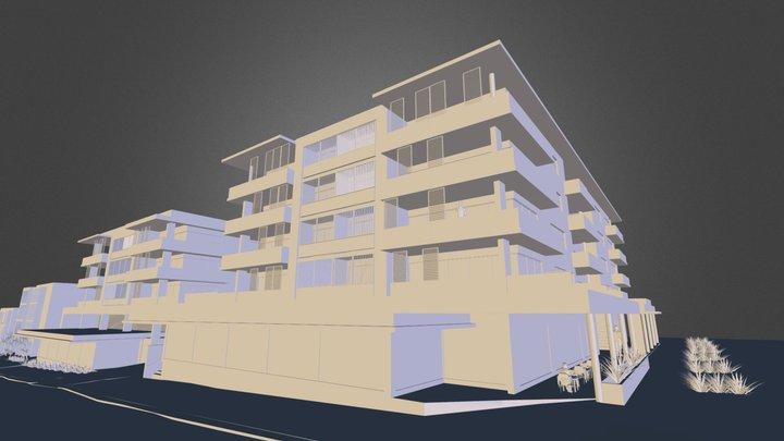Caves Beach Development  3D Model