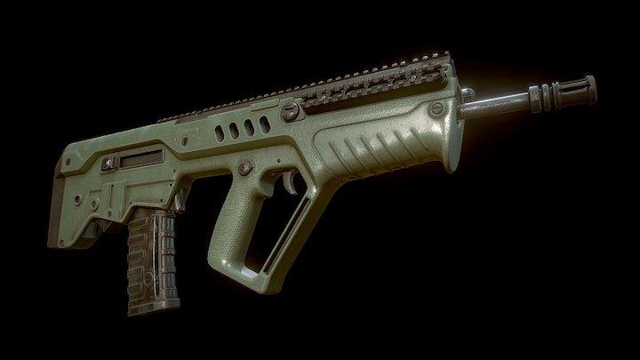 IWI Tavor Sar 3D Model