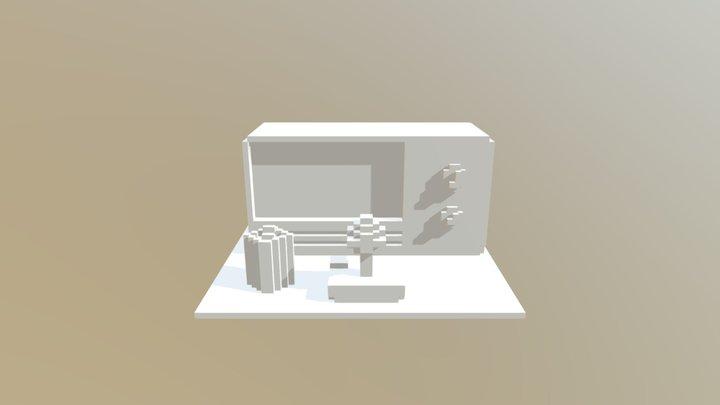 Pong Set 3D Model
