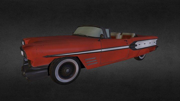 Pontiac Bonneville 3D Model