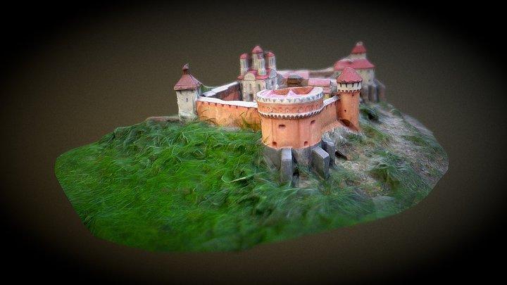 Ostrog Castle model. Igor Kachor reconstruction. 3D Model