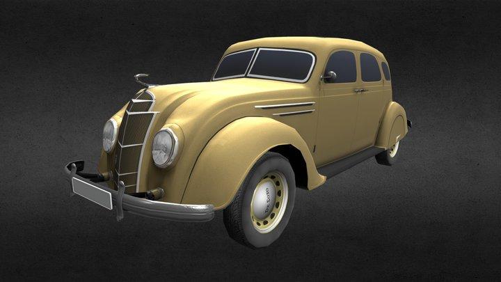 De Soto Airflow (SG) Sedan 1935 Low Game 3D Model