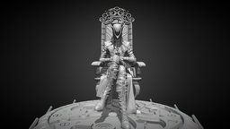 Bloodborne - Lady Maria of the Astral Clocktower 3D Model