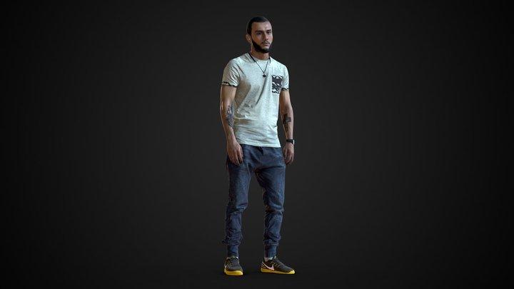 3d scan man 1 3D Model