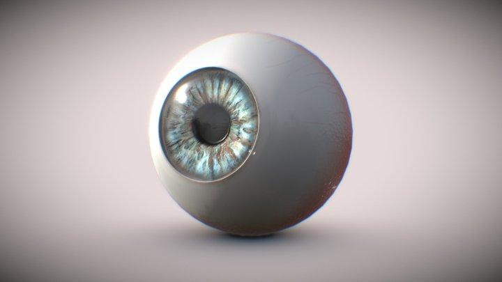 Eye (Textured) 3D Model