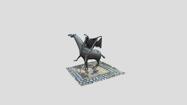 Sankt Martin Mantelteilung 3D Model
