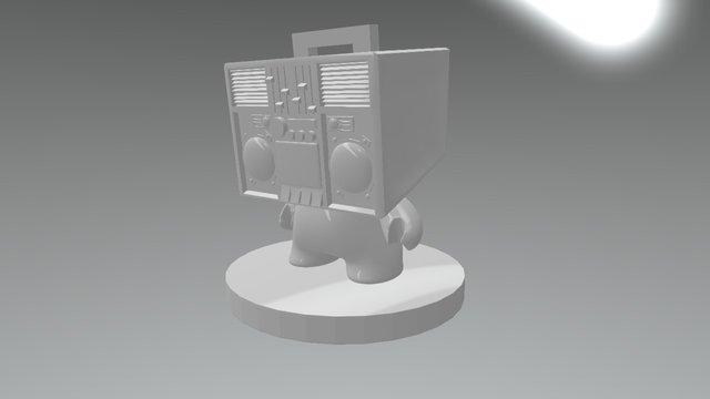 Ghetto blaster MUNNY 3D Model