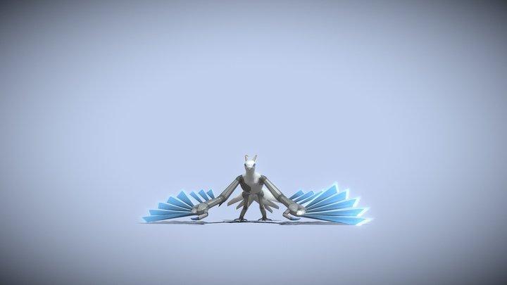 Endboss Vedfolnir Animated 3D Model