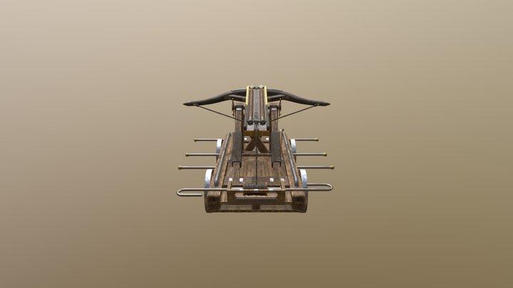King Arthur Balliasta Catapult 3D Model