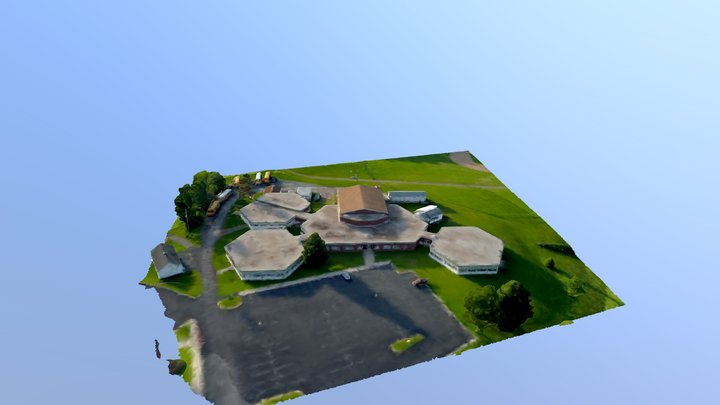 Old Forbes School2 3D Model