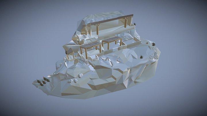 A Moche House 3D Model