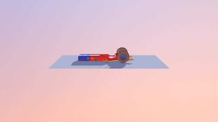 Carrão Aerodinâmico 3D Model