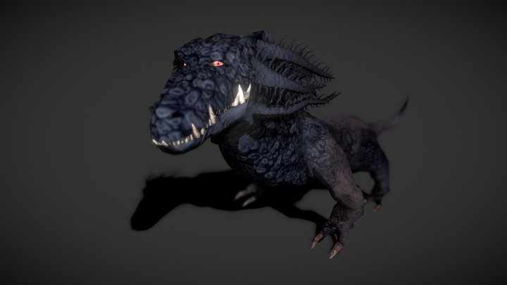 Axo Drake Crossbreed (Final) 3D Model