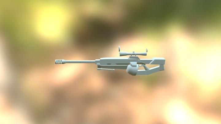Sniper (WIP) 3D Model