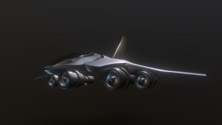Pew Plane WIP 3D Model