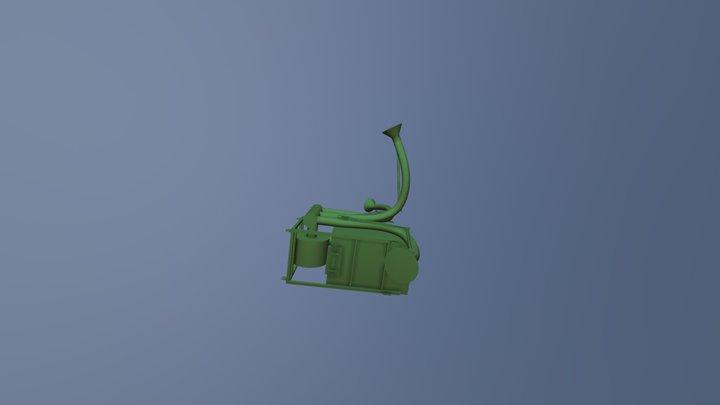 Coletor de pó MINI MAGO 75 3D Model